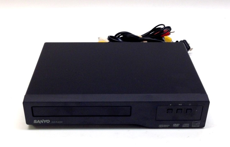 Sanyo FWDP105F Dolby Digital DVD Player With Remote and A/V Cables>
