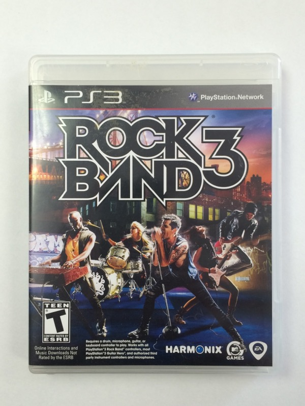 Rock Band 3 - (Sony Playstation 3, 2010) PS3