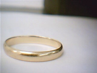 Lady's Gold Ring 10K Yellow Gold 1.9g Size:8.5