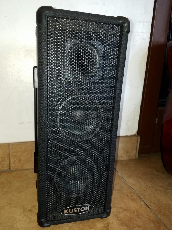 KUSTOM AMPLIFICATION DJ Equipment PA 50