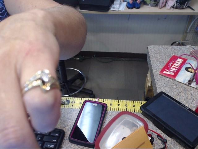 Lady's Diamond Engagement Ring 13 Diamonds 1.00 Carat T.W. 10K Yellow Gold