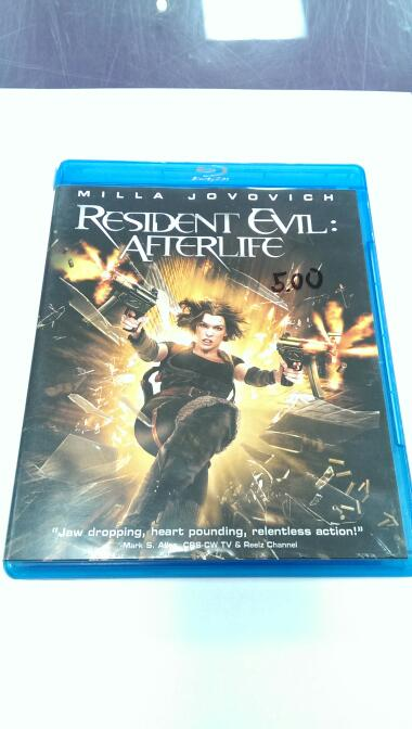 BLU-RAY RESIDENT EVIL: AFTERLIFE
