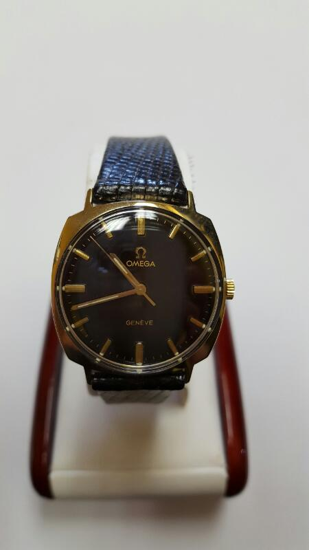 OMEGA WATCH Gent's Wristwatch VINTAGE 14K CAL GENT'S WATCH