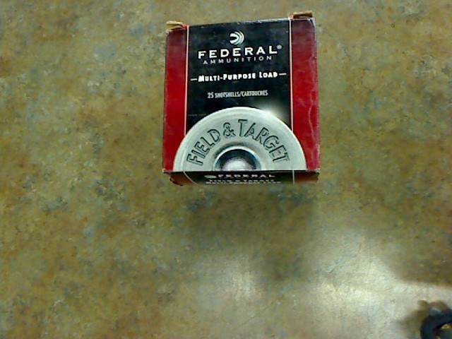FEDERAL AMMUNITION Ammunition 12 GA SHELL