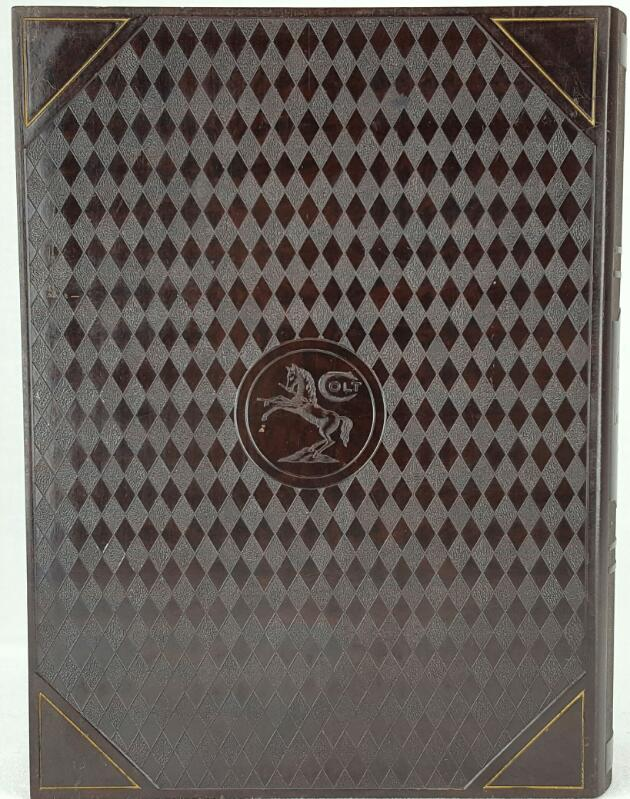 THE COURTSHIP OF LADY NICOTINE BY COLT HUMIDOR BOOK BOX.