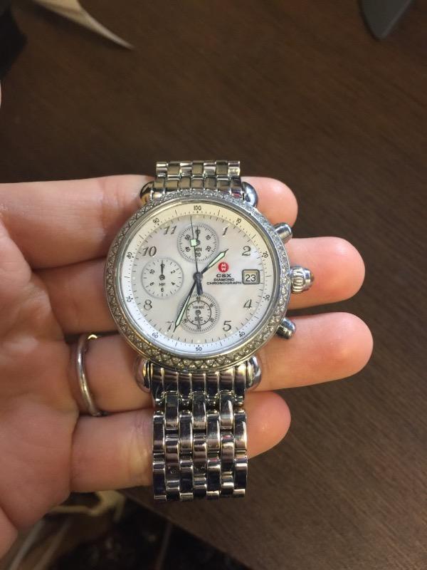 MICHELE Lady's Wristwatch CSX CHRONOGRAPH