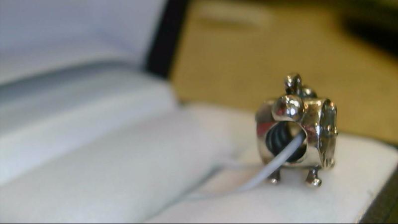 Pandora Clock Silver Charm 925