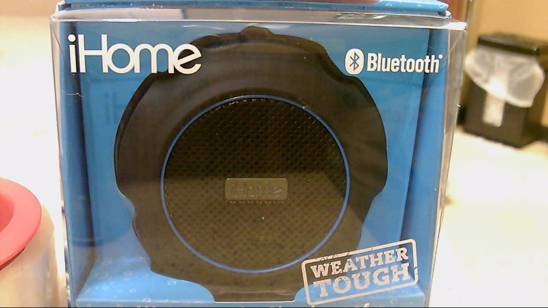 iHome Waterproof Shockproof Wireless Speaker iBT82BLC