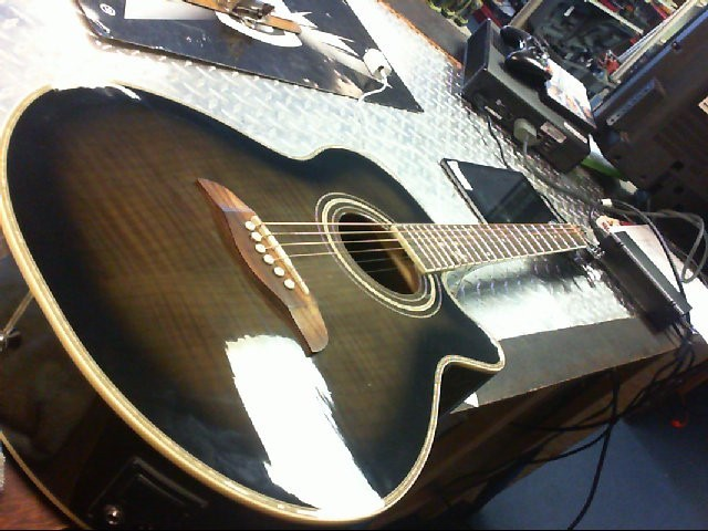 OSCAR SCHMIDT Electric-Acoustic Guitar OG 10 CEF TR