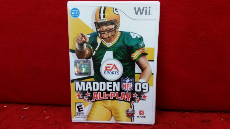 Madden NFL 09: All-Play (Nintendo Wii, 2008)