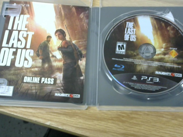 SONY Sony PlayStation 3 Game THE LAST OF US - PS3