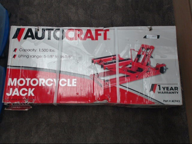 AUTOCRAFT Floor Jack MOTORCYCLE JACK AC943