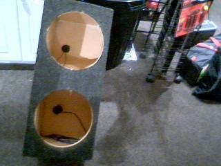 Car Speakers/Speaker System EMPTY SPEAKER BOX