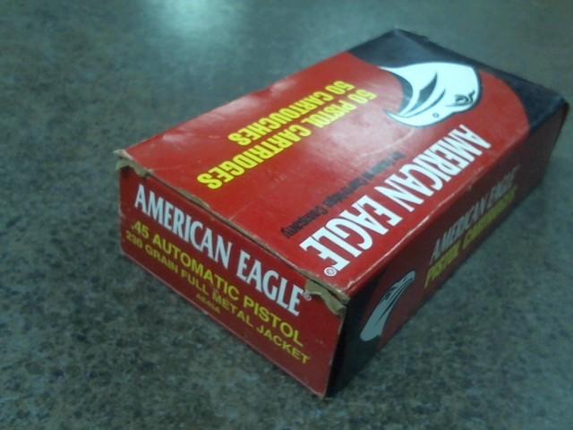 AMERICAN EAGLE AMMUNITION Ammunition 45ACP