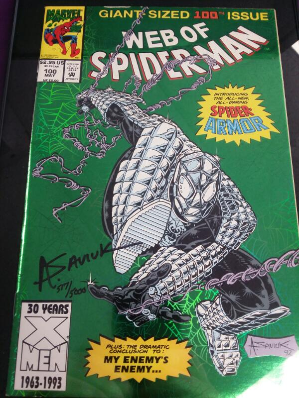 """Web of Spider-Man #100 Giant Sized """"My Enemy's Enemy..."""" May 1993"""