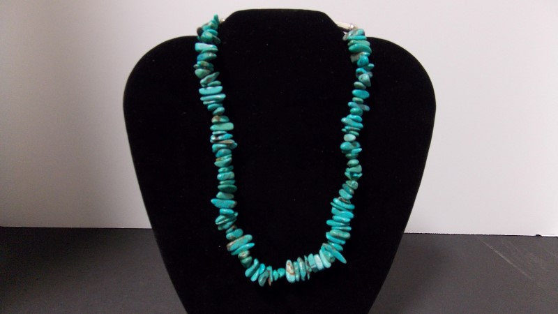 TURQUIOSE NECKLESS ONE OF A KIND