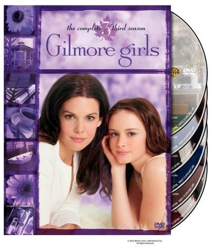 DVD BOX SET DVD GILMORE GIRLS THE COMPLETE THIRD SEASON
