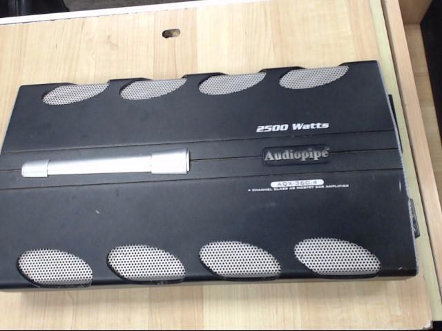 AUDIO PIPE Car Amplifier AQX-360.4