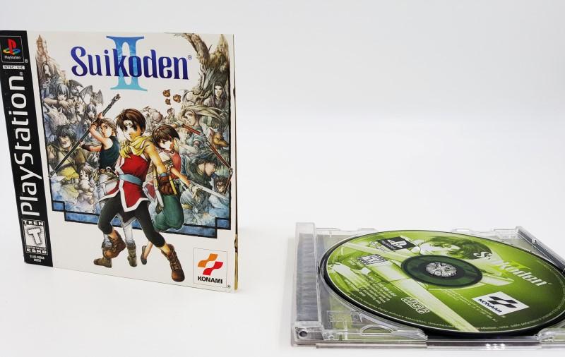 Suikoden II 2 Complete PS1 Playstation Game Black Label