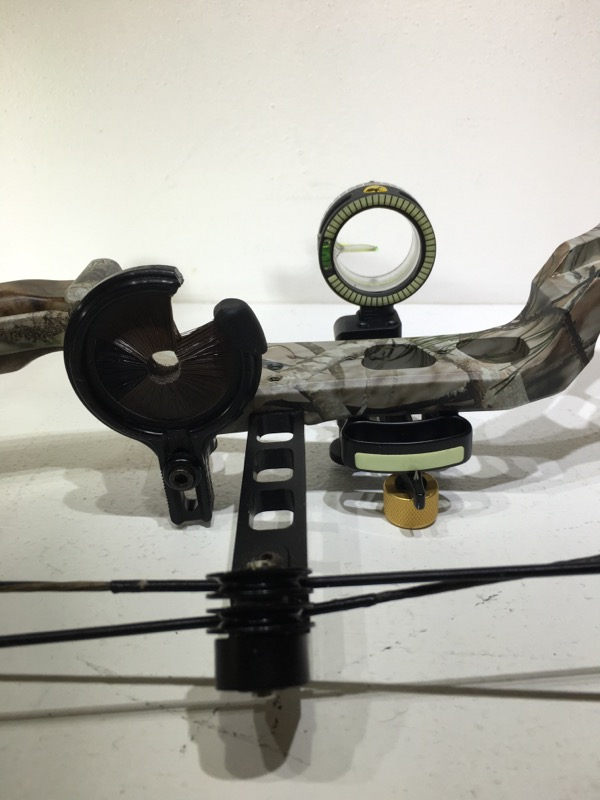 "Parker Inferno Compound Bow 26""-31"" DL 50-60lb DW Great Condition"