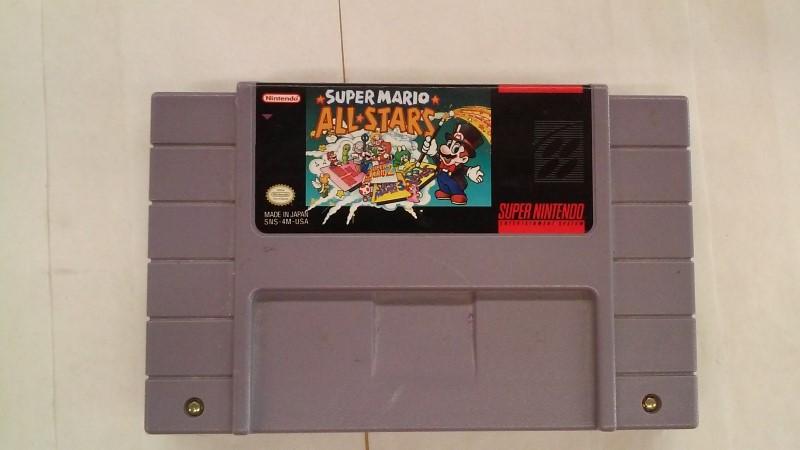 SUPER MARIO ALL-STARS SNESSNES - GAMES