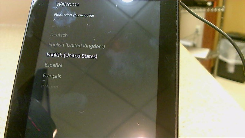 Preowned Amazon Kindle Fire 16 P48WVB4 Tablet