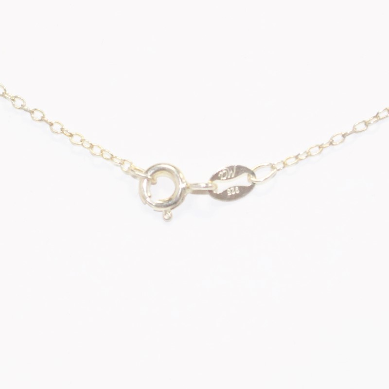 """18"""" Gold Colored Sterling Silver Chain"""