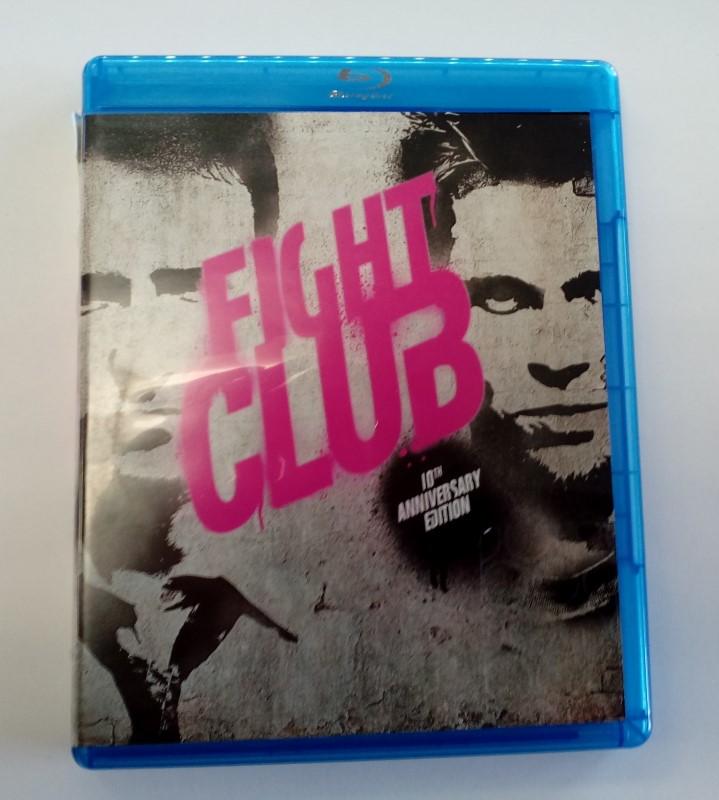 FIGHT CLUB, ACTION BLU-RAY MOVIE, STARRING EDWARD NORTON.