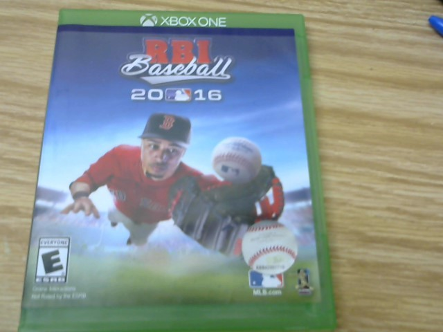 MICROSOFT Microsoft XBOX One Game RBI BASEBALL 2016 XBOX ONE