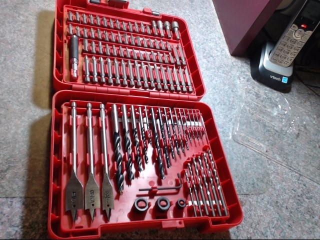 CRAFTSMAN Drill Bits/Blades 100 PC DRILL SET