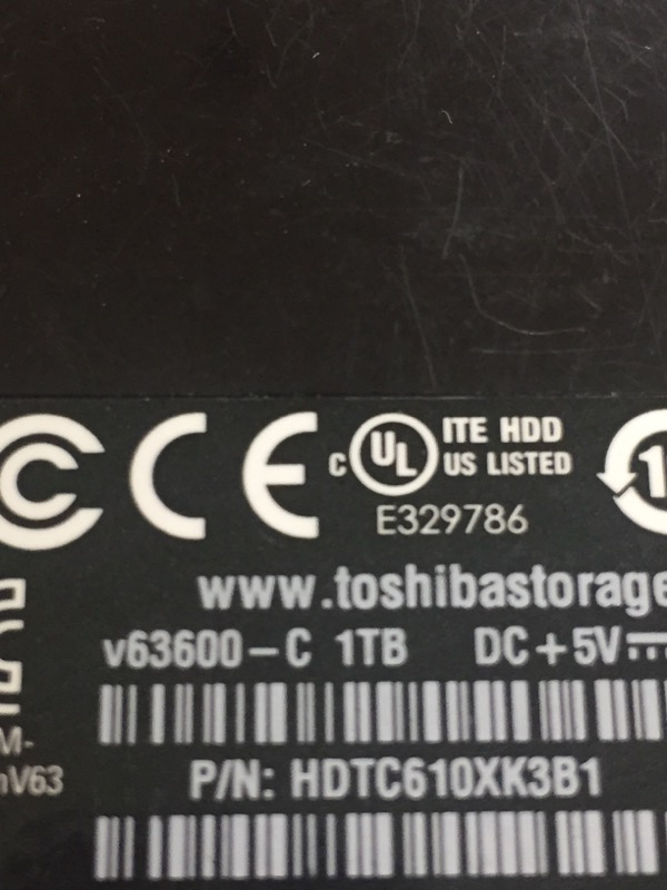 TOSHIBA Computer Accessories V63600-C