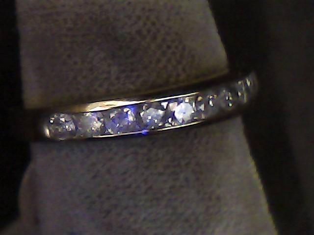 Lady's Diamond Wedding Band 12 Diamonds .24 Carat T.W. 10K Yellow Gold 1dwt