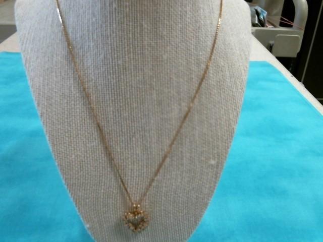 Gold-Multi-Diamond Pendant 50 Diamonds 3.50 Carat T.W. 14K Yellow Gold 4.6dwt