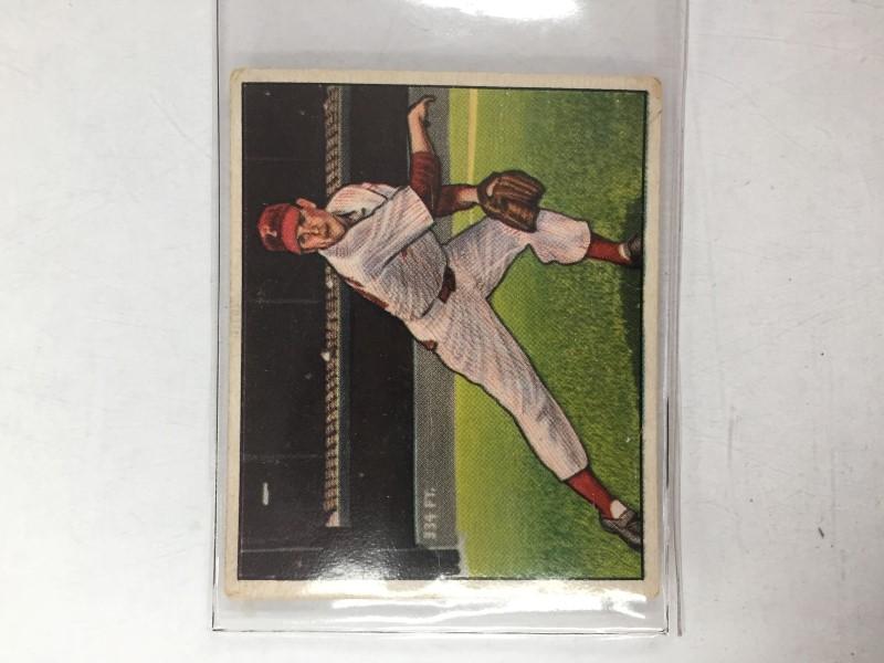 1950 BOWMAN ROBIN ROBERTS BASEBALL CARD