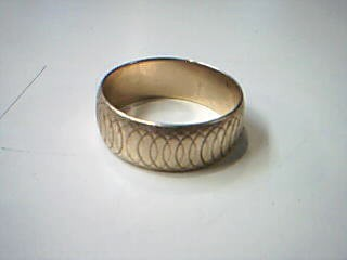 Gent's Gold Wedding Band 14K Yellow Gold 5.7g Size:9.5