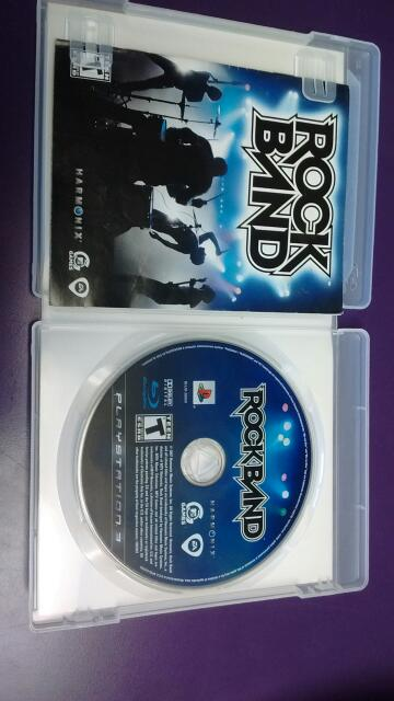 SONY PS3 GAME ROCKBAND