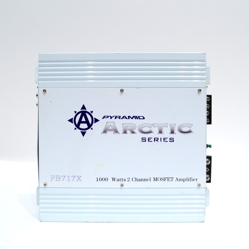 Pyramid Arctic Series PB717X 1000W 2 Channel MOSFET Car Amplifier>