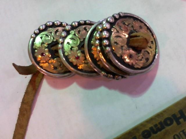 Silver Belt Buckle 925 Silver 160g