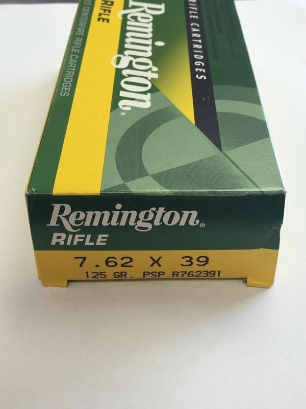 Remington - 7.62 x 39 - 125 GR. PSP - R762391