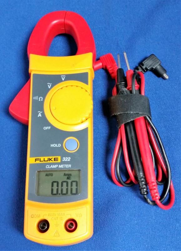Fluke 322 Clamp Meter : Fluke clamp meter good buya