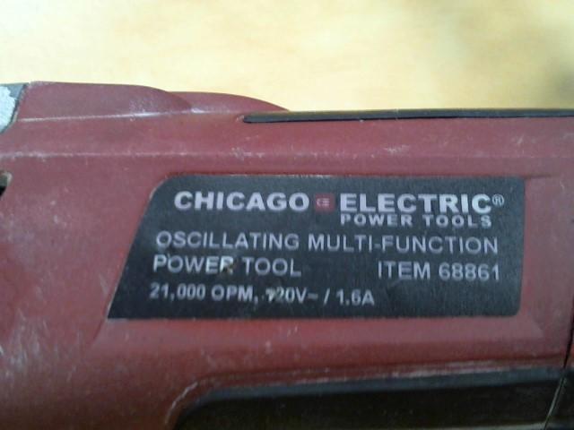 CHICAGO ELECTRIC Disc Grinder 68861