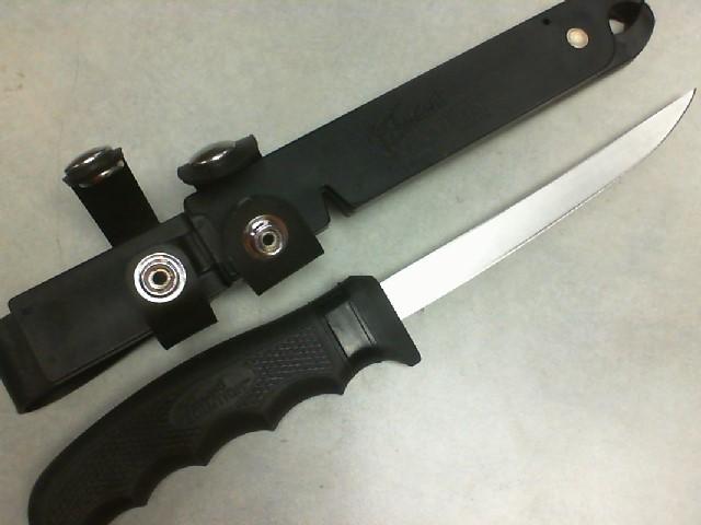 CUTCO FISHERMAN'S SOLUTION KNIFE W/SHEATH