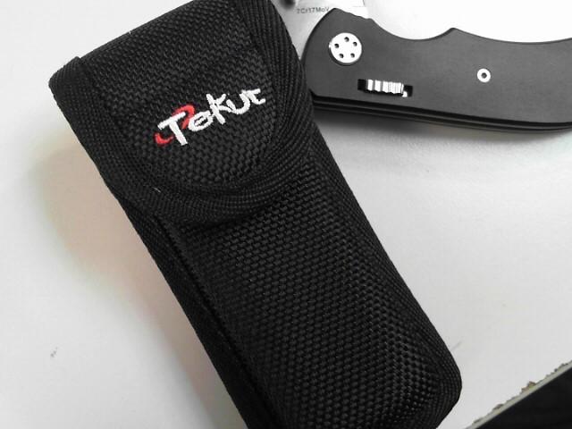 TEKUT 7CR17MOV KNIFE