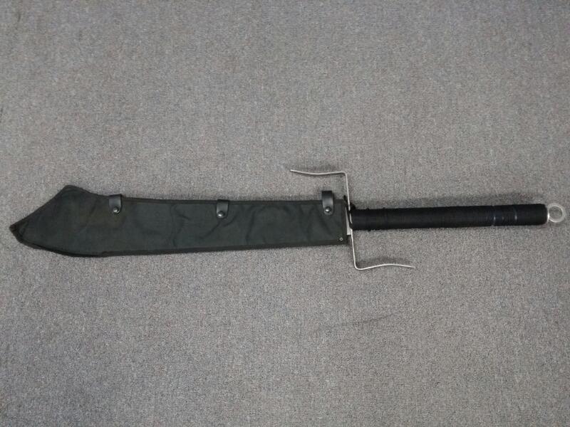 "23"" Stainless Steel Machete Style Sword - Gothic"