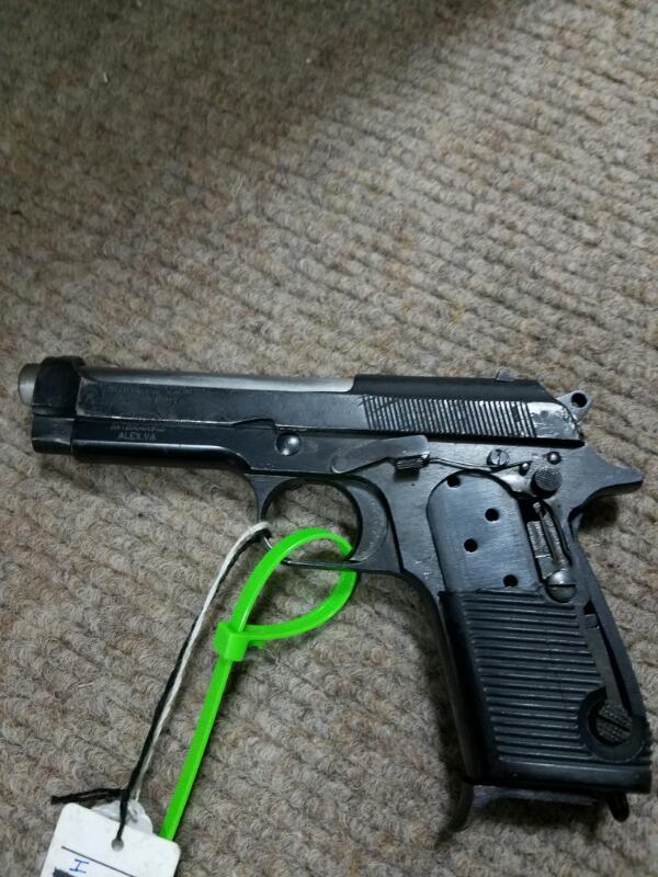 HELWAN FIREARMS Pistol MILITARY-Broken