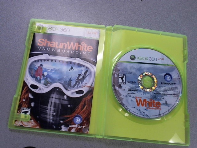 MICROSOFT Microsoft XBOX 360 Game SHAUN WHITE SNOWBOARDING