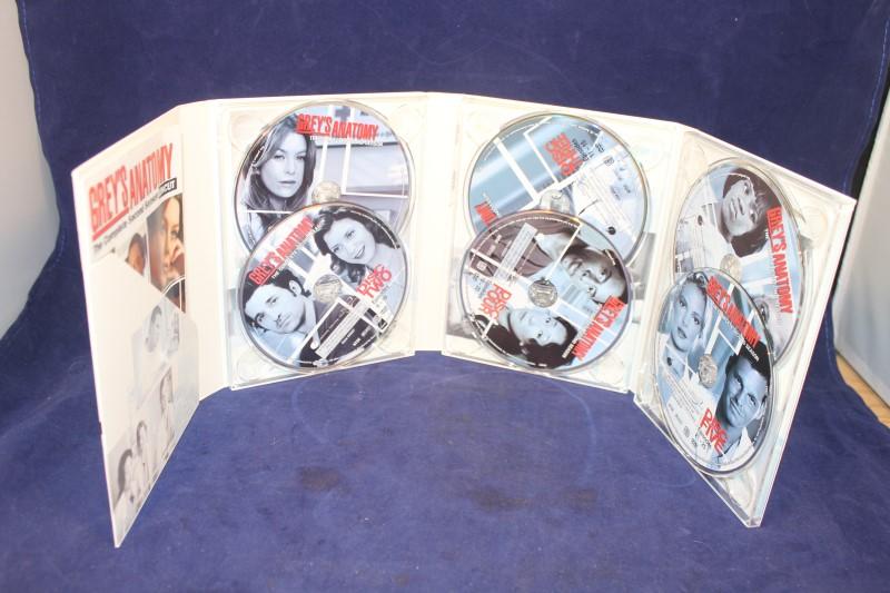 Grey's Anatomy - Season 2: Uncut (DVD, 2006, 6-Disc Set)