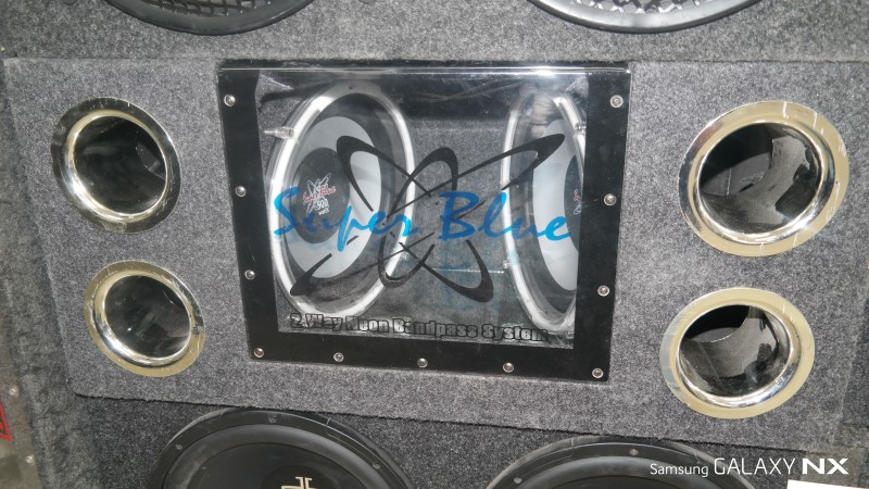 """Speakers/Subwoofer BNPS102 10"""" SUBS IN BOX"""