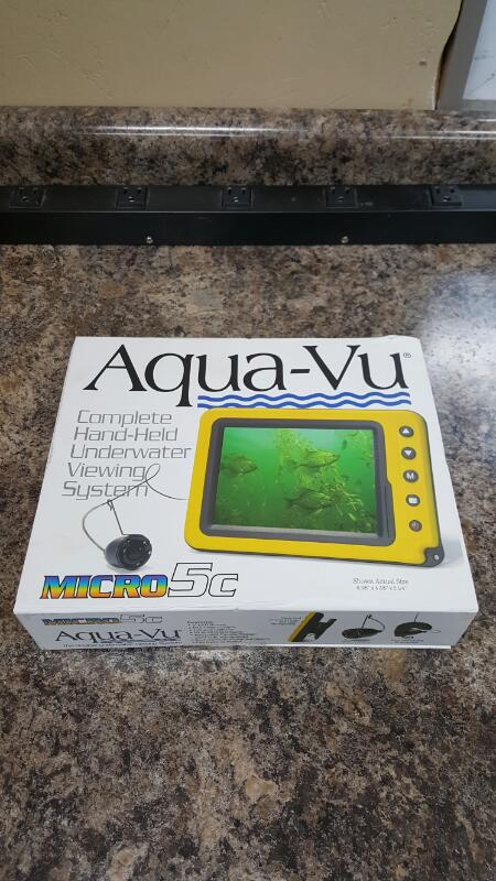 Aqua-Vu Micro 5c Camera / Handheld Underwater Viewing System