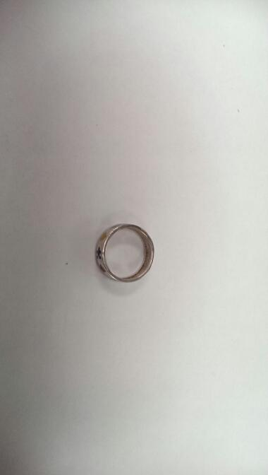 Lady's Silver Ring 925 Silver 4.2g Size:7.5